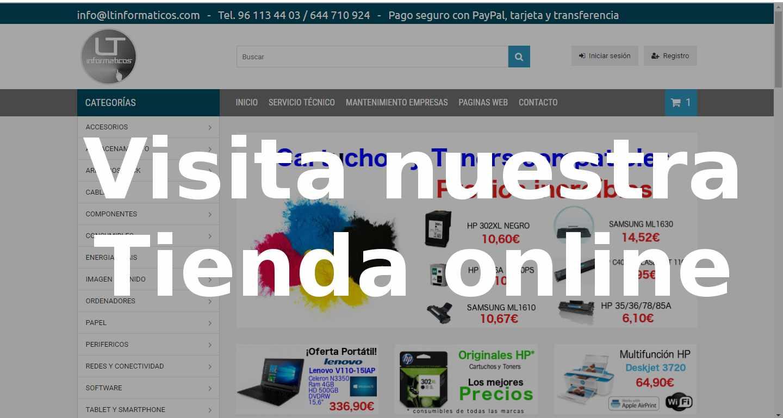 tienda online cartuchos